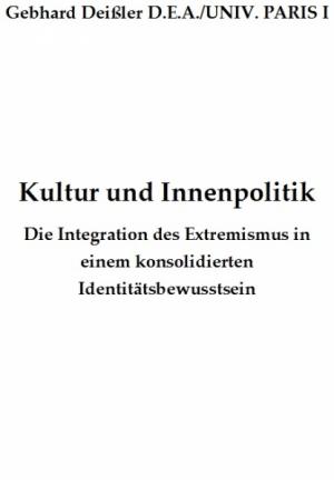 Kultur und Innenpolitik