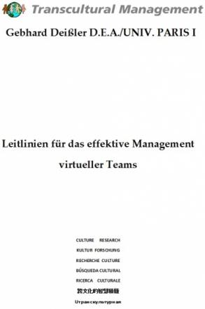 Leitlinien für das effektive Management virtueller Teams