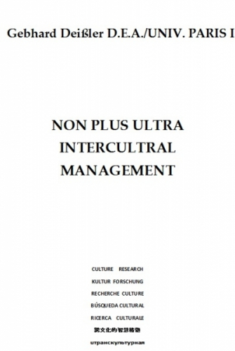 NON PLUS ULTRA INTERCULTURAL MANAGEMENT