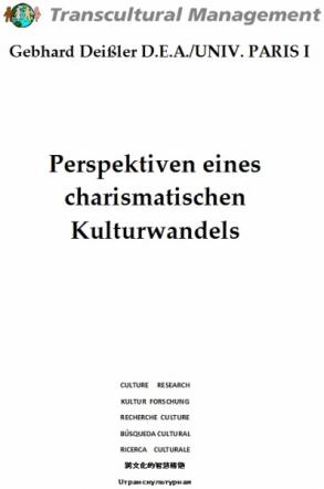 Perspektiven eines charismatischen Kulturwandels