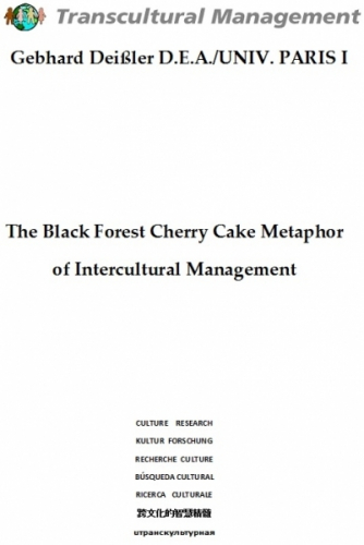 The Black Forest Cherry Cake Metaphor of Intercultural Manag