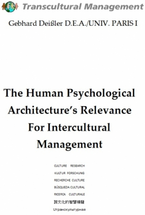 The Human Psychological Architecture's Relevance For Intercu