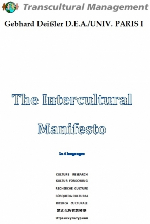The Intercultural Manifesto In 4 Languages