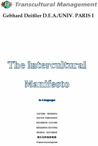 The Intercultural Manifesto In 4 Languages