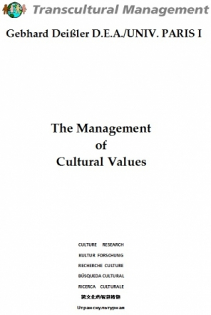 The Management of Cultural Values
