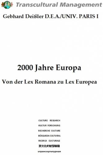 2000 JAHRE EUROPA