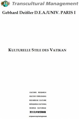 Kulturelle Stile des Vatikan