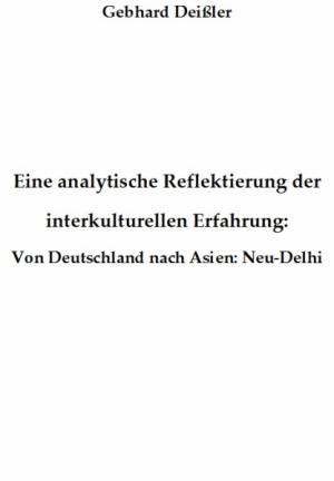 Eine analytische Reflektierung d. interkulturellen Erfahrung