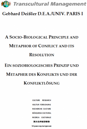 A SOCIO-BIOLOGICAL PRINCIPLE AND METAPHOR OF CONFLICT AND I