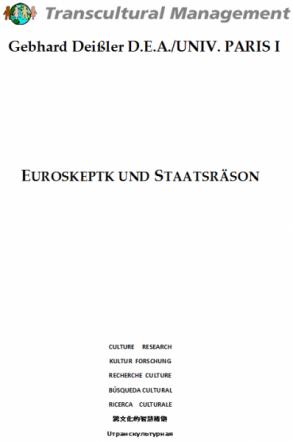 EUROSKEPTK UND STAATSRÄSON