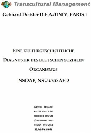 EINE KULTURGESCHICHTLICHE DIAGNOSTIK DES DEUTSCHEN...