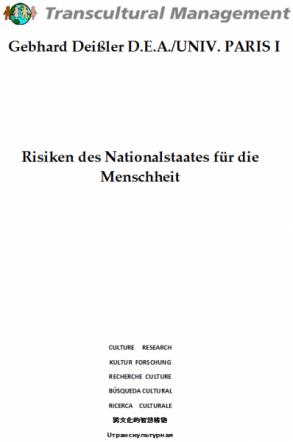Risiken des Nationalstaates für die Menschheit