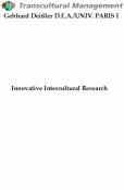 Innovative Intercultural Research