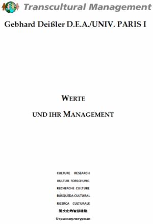 Werte und ihr Management