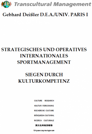 Strategisches und operatives internationales Sportmanagement