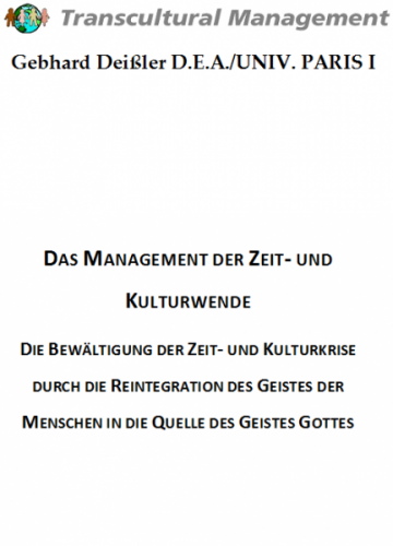 Das Management der Zeit- und Kulturwende