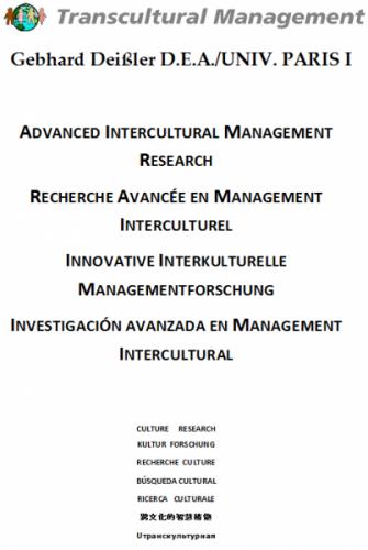 Recherche Avancée En Management Interculturel