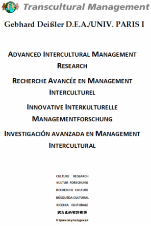 Investigación Avancada en Management Intercultural