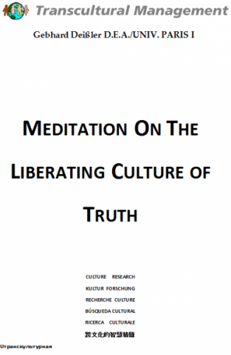 Meditation On The Liberating Culture Of Truth