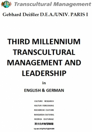 Third Millennium Transultural Management and Leadership