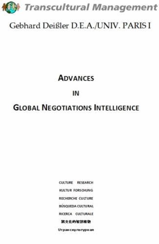 Advances in Global Negotiations Intelligence