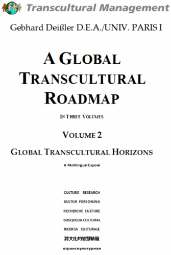 A Global Transcultural Roadmap - In Three Volumes