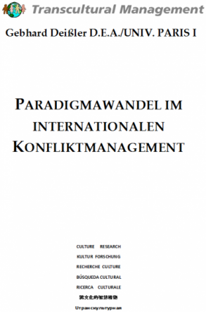 Paradigmawandel im internationalen Konfliktmanagement