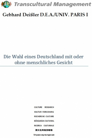 Die Wahl eines Deutschland mit oder ohne menschliches Gesic