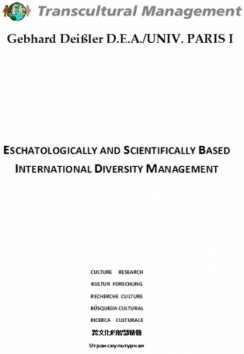 Eschatologically&scientifically based intern. diversity mgmt