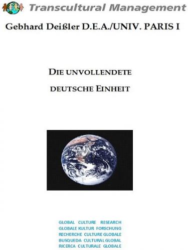 Die unvollendete deutsche Einheit