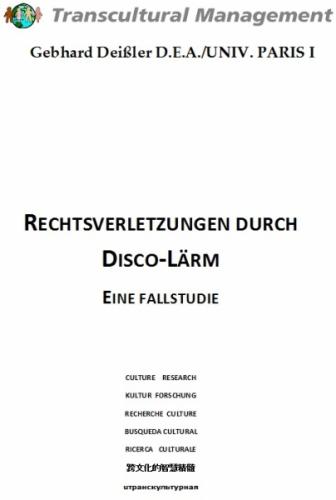 Rechtsverletzungen durch Disco-Lärm
