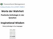 Worte der Wahrheit: Poetische Anthologie in vier Sprachen