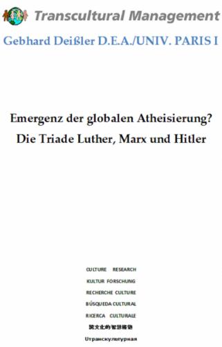 Emergenz der globalen Atheisierung?