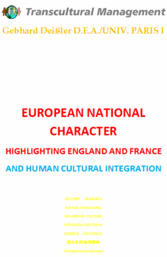 European National Character: Highlighting England and France