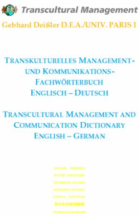 TRANSKULTURELLES MANAGEMENT- UND KOMMUNIKATIONS-FACHWÖRTER