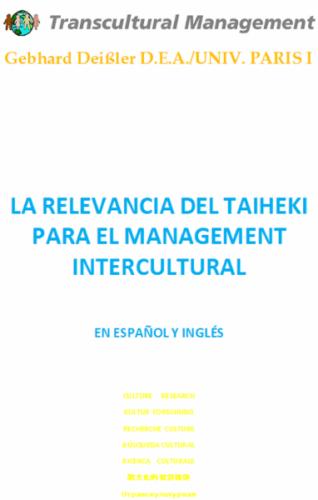LA RELEVANCIA DEL TAIHEKI PARA EL MANAGEMENT INTERCULTURAL