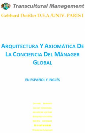 Arquitectura y Axiomática De La Conciencia Del Mánager Globa