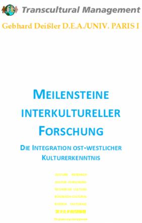 Meilensteine interkultureller Forschung