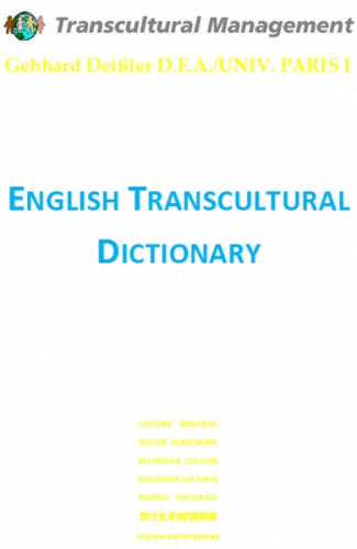 English Transcultural Dictionary