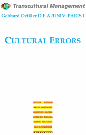 Cultural Errors