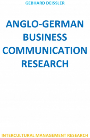 Anglo-German Business Communication Research