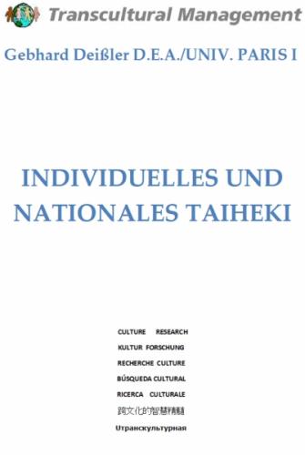 INDIVIDUELLES UND NATIONALES TAIHEKI