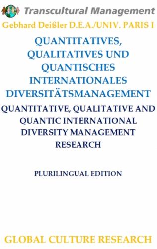 QUANTITATIVES, QUALITATIVES U. QUANTISCHES INTERNATIONALES D