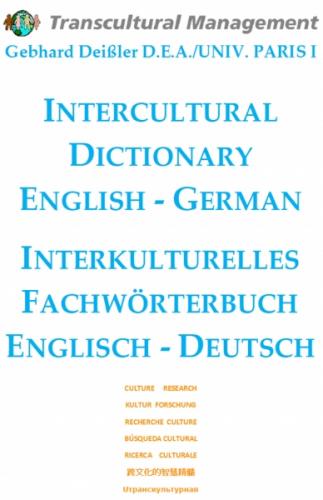 INTERCULTURAL DICTIONARY ENGLISH - GERMAN INTERKULTURELLES F
