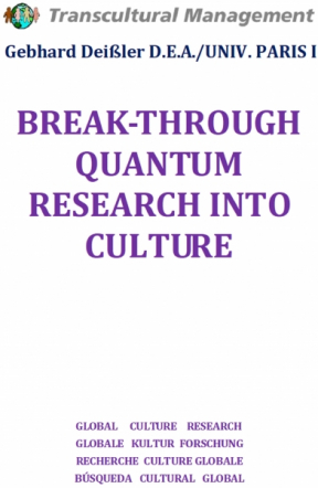 BREAK-THROUGH QUANTUM RESEARCH INTO CULTURE
