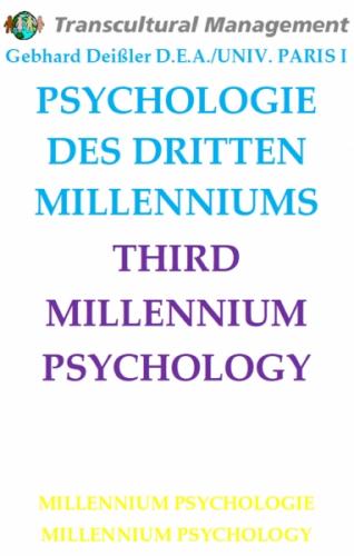 PSYCHOLOGIE DES DRITTEN MILLENNIUMS