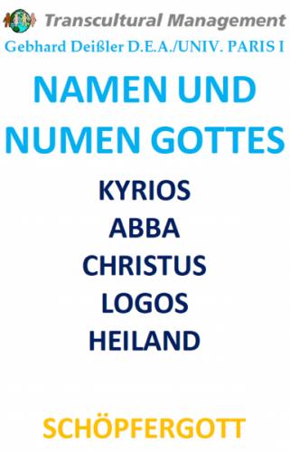 NAMEN UND NUMEN GOTTES
