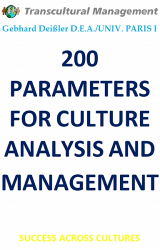 200 PARAMETERS FOR CULTURE ANALYSIS AND MANAGEMENT