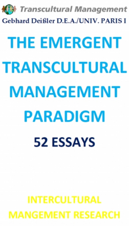 THE EMERGENT TRANSCULTURAL MANAGEMENT PARADIGM
