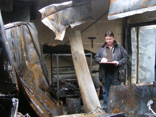Brandermittlung: Metallbrände